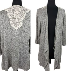 3/$23 Maurices Soft Gray Cardigan Sweater